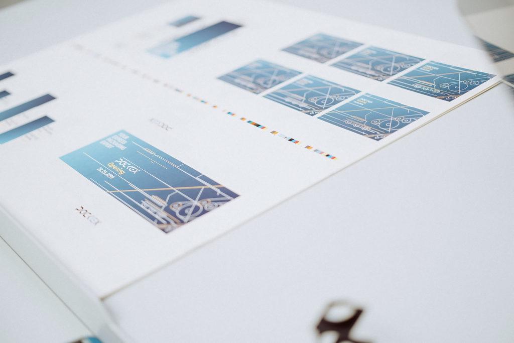 Bündelung von verschiedenen Aufträgen auf einen Druckbogen sind dank des innovativen Druckverfahrens von PackEx kein Problem.