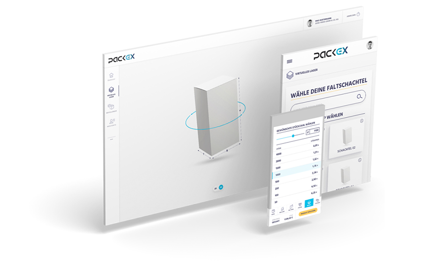 Schritt 1: Die PackEx B2B App