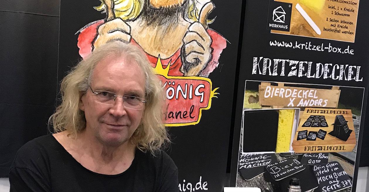 Kritzelkönig Walter Hanel - PackEx
