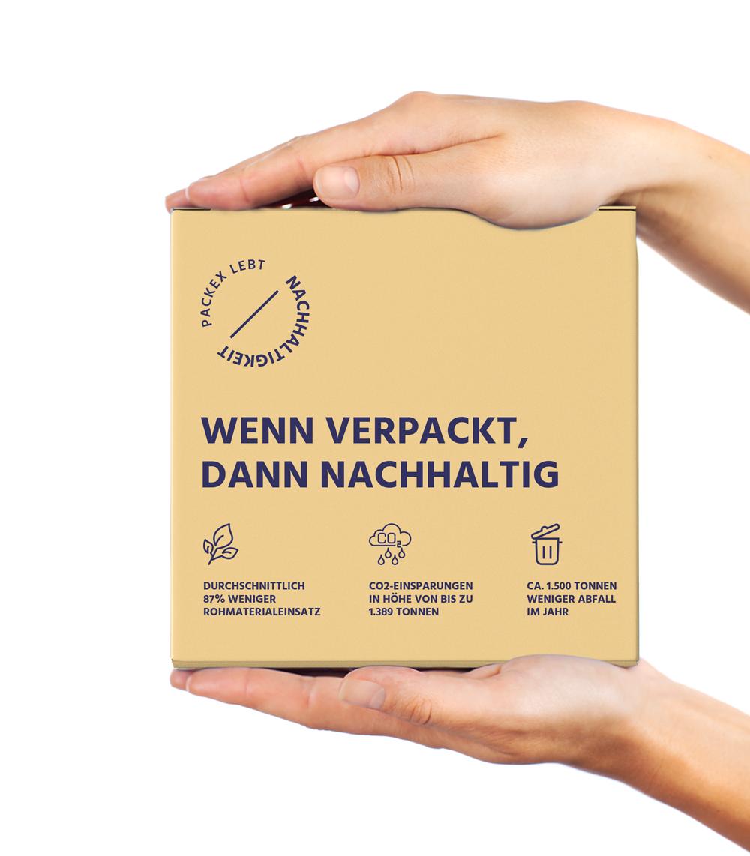 Nachhaltige Faltschachteln aus ressourcenschonender Produktion bei PackEx