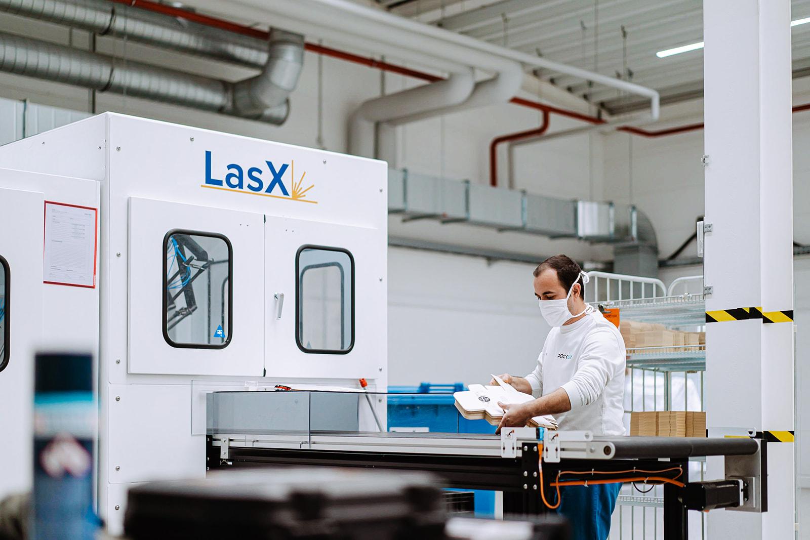 PackEx Laser Goldlinie