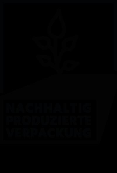 Nachhaltig produzierte Verpackung