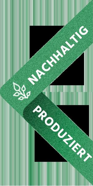Nachhaltigkeits Badge DE