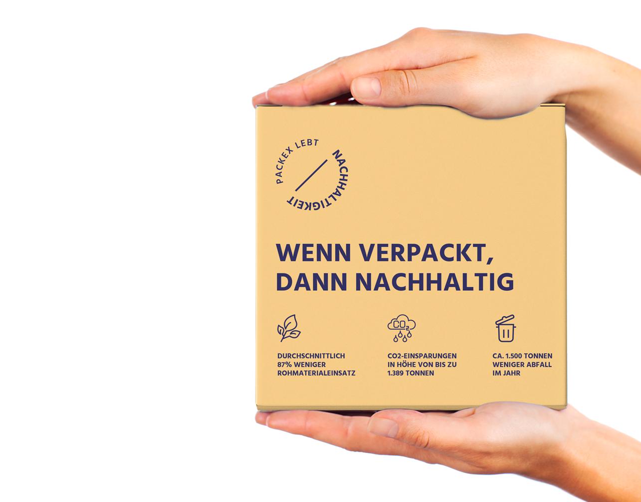 Nachhaltige Verpackungen von PackEx