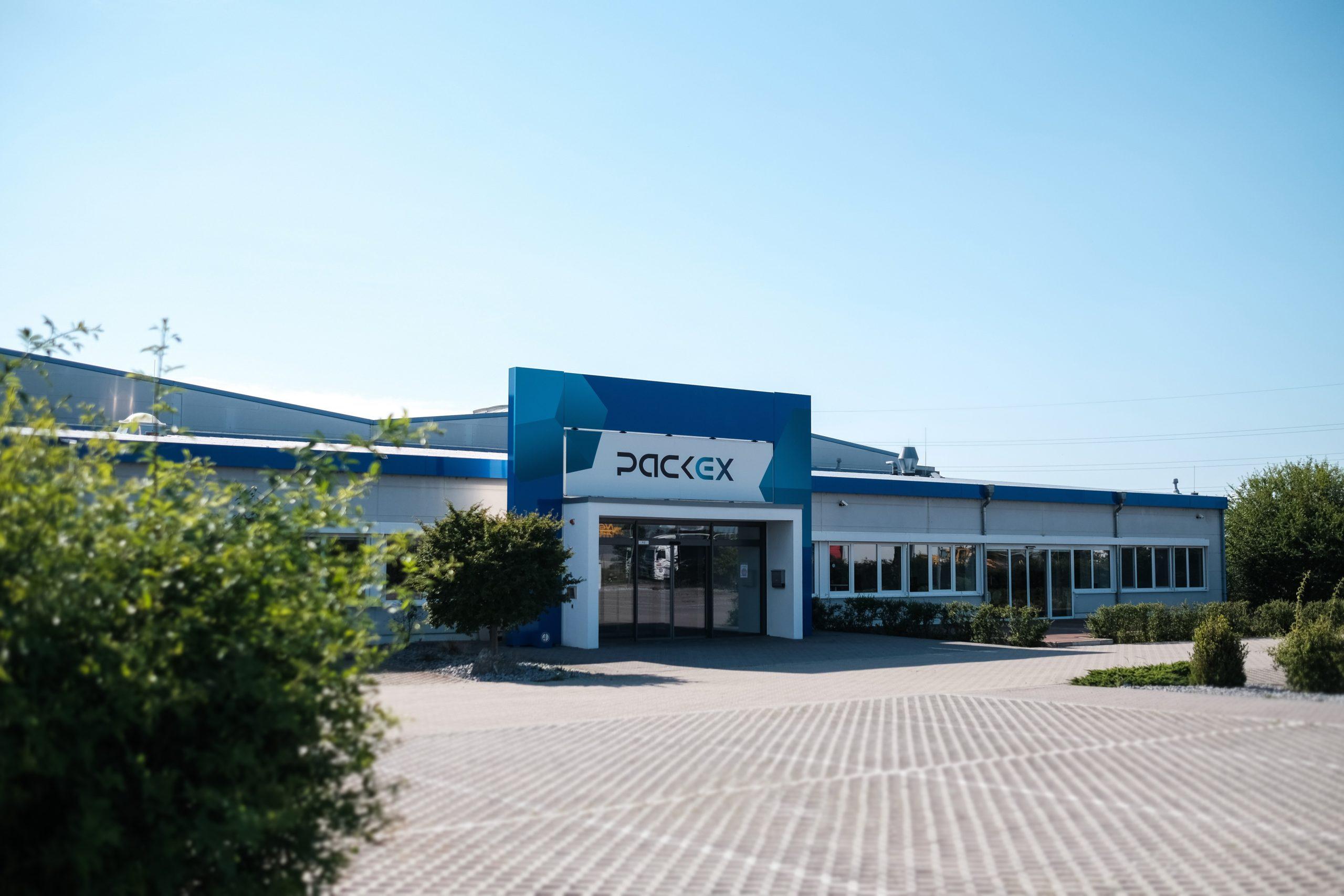 PackEx Gebäude